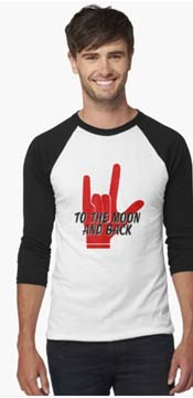 To the Moon and back sign language tee copy